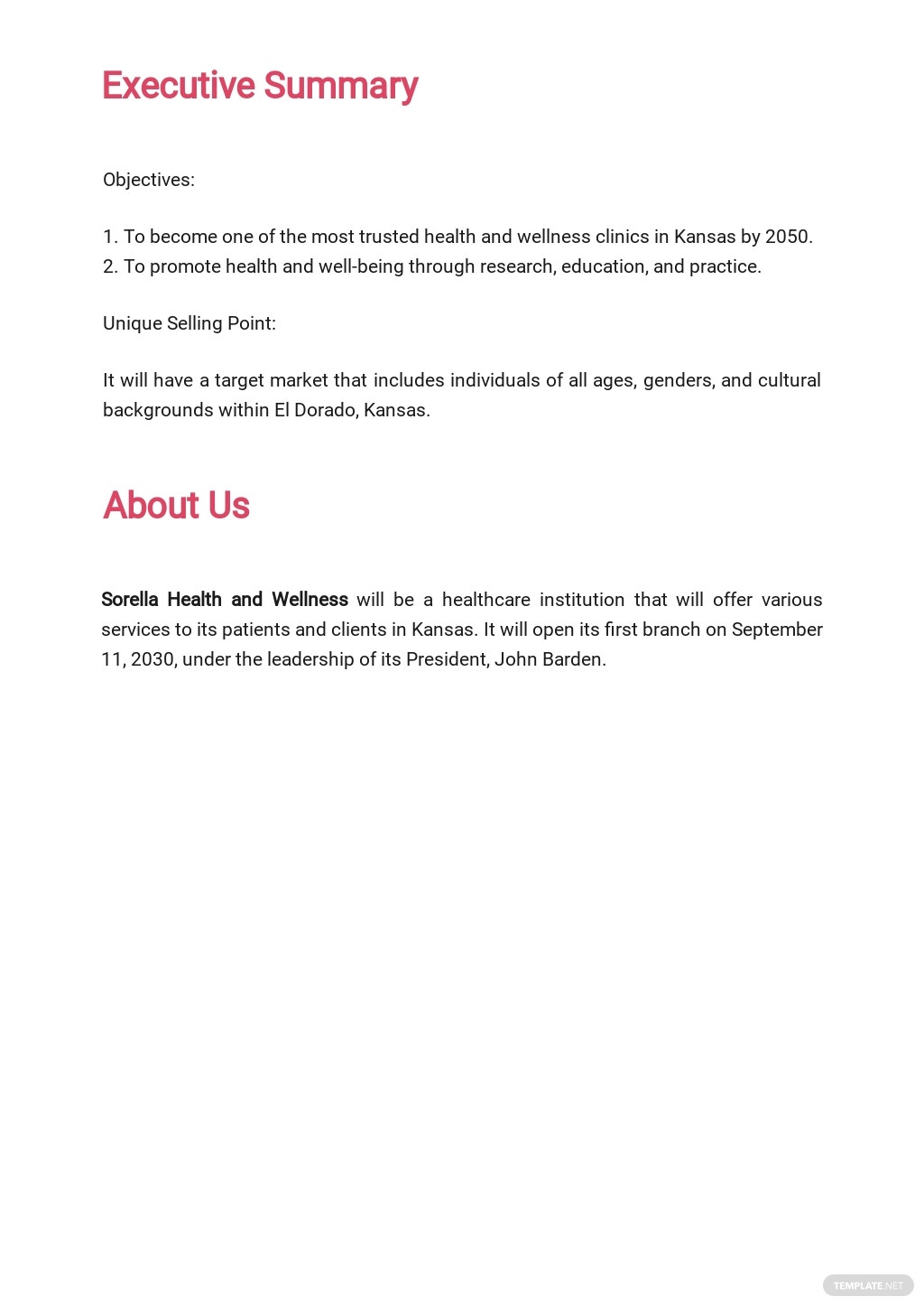Healthcare Business Plan Template  1.jpe