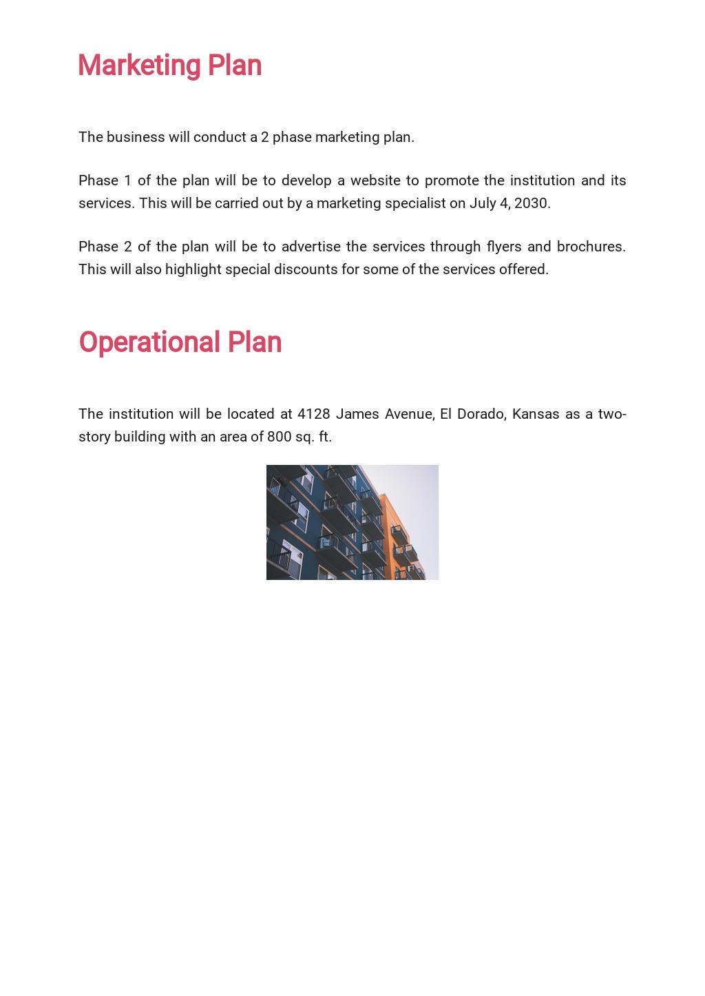 Healthcare Business Plan Template  4.jpe