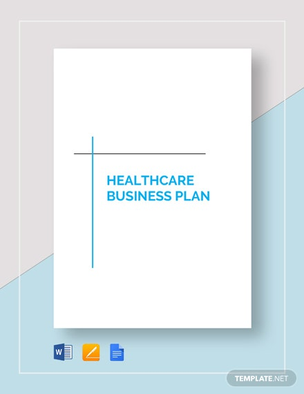 Healthcare Business Plan Template