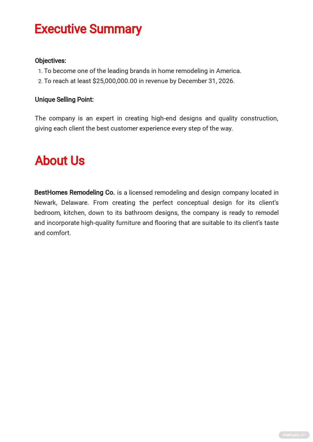 Remodeling Business Plan Template  1.jpe