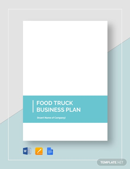 food truck business plan 2