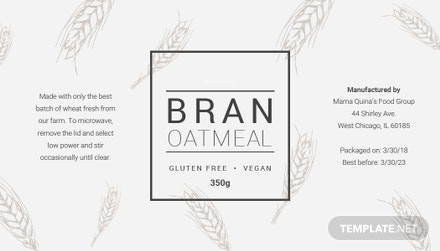 free food label template download 118 labels in psd word