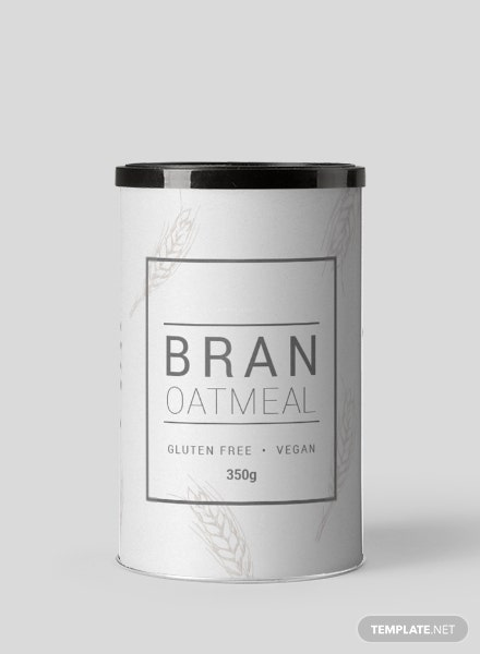 Free Food Label Template