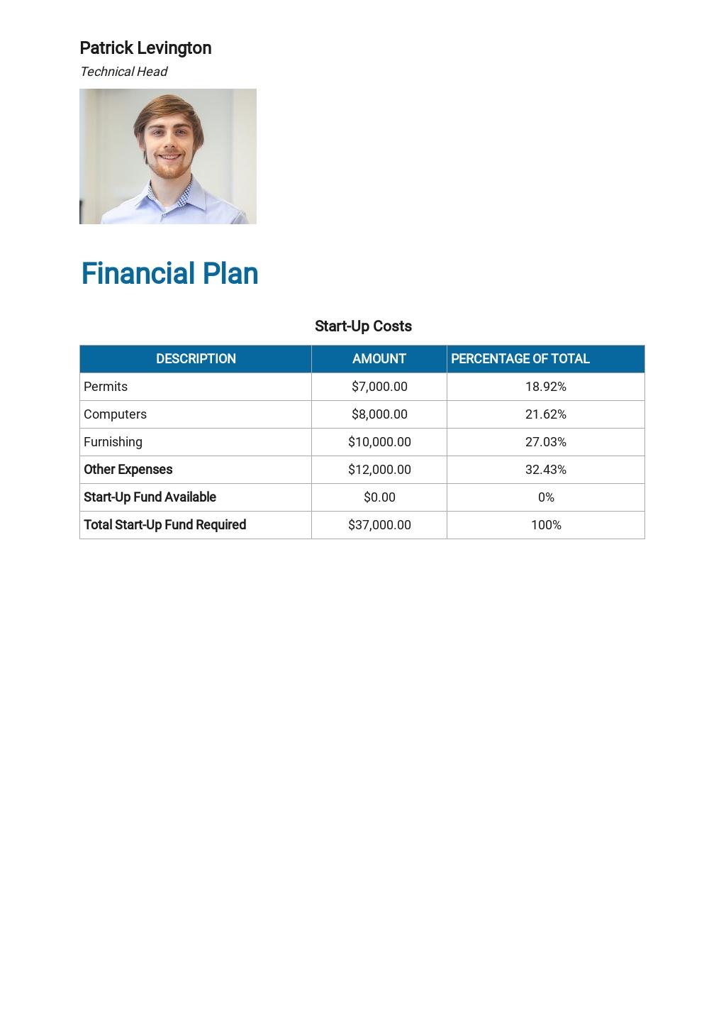 Social Media Business Plan Template  6.jpe
