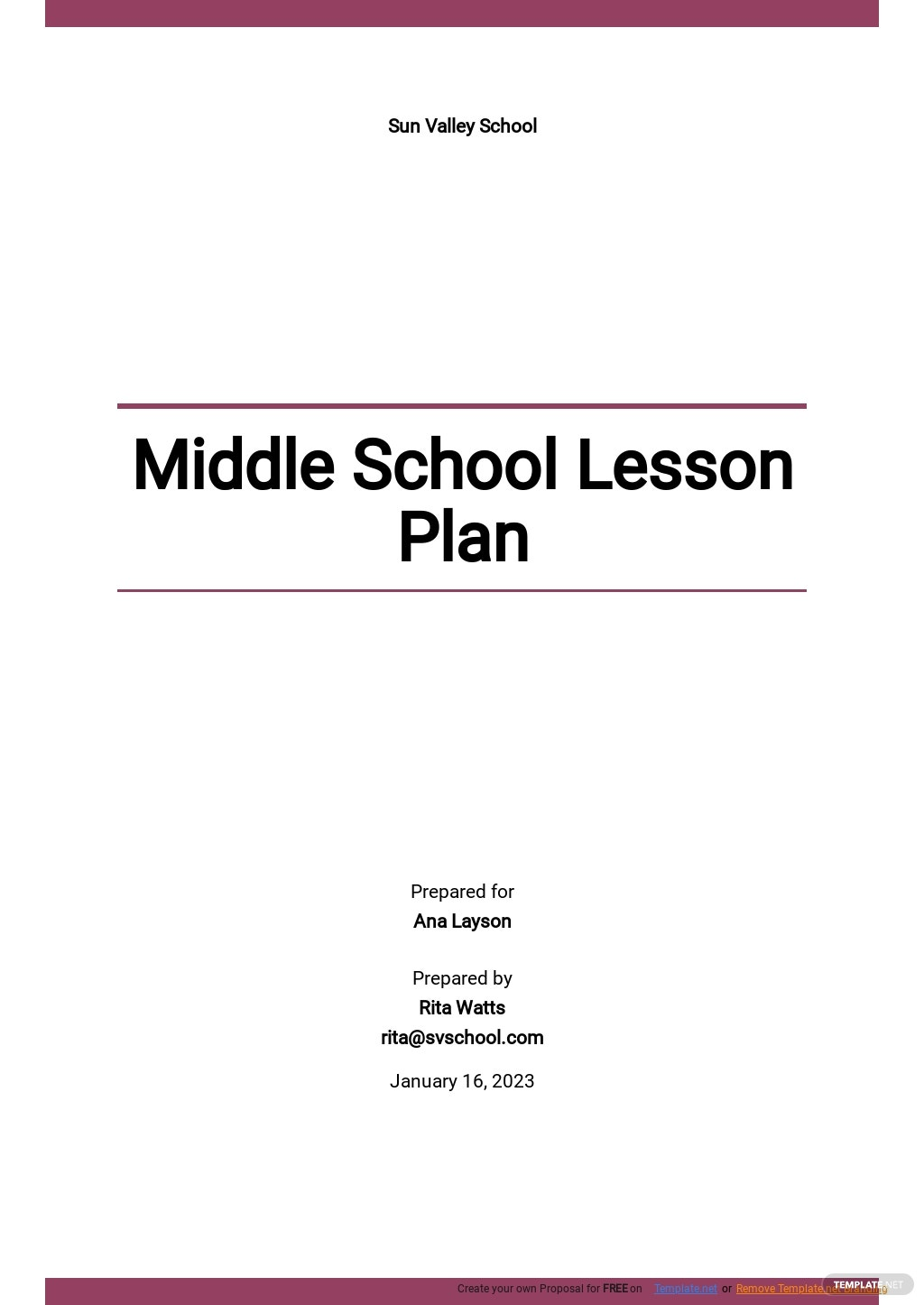 Middle School Lesson Plan Template.jpe