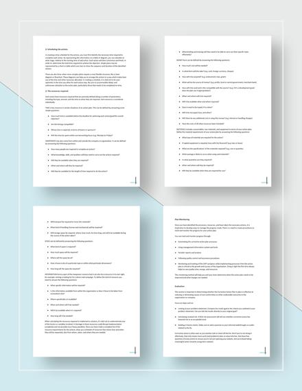 Sample Corrective Action Plan