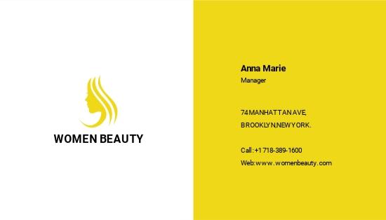 Beauty Parlor Business Card Template.jpe