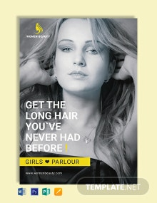 Free Beauty Parlor eBook Cover Template