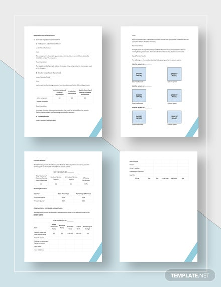 IT Report Download