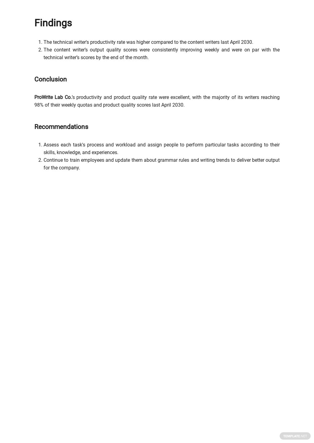 Company Monthly Management Report Template 3.jpe