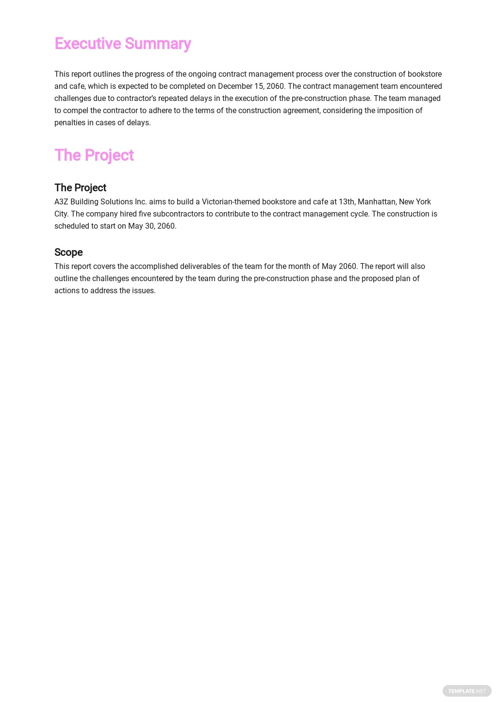 Contract Management Monthly Report Template 1.jpe