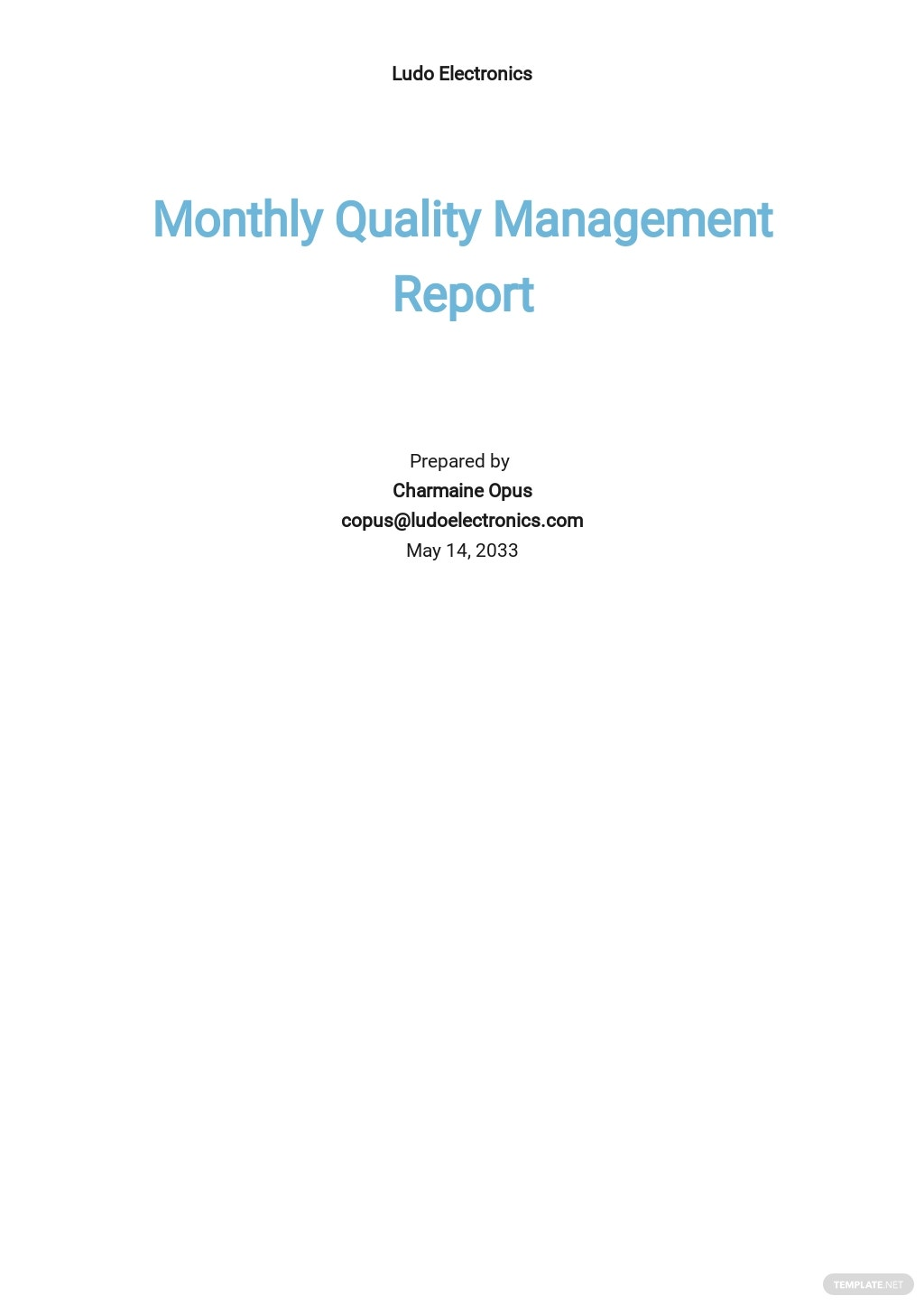 Monthly Quality Management Report Template.jpe