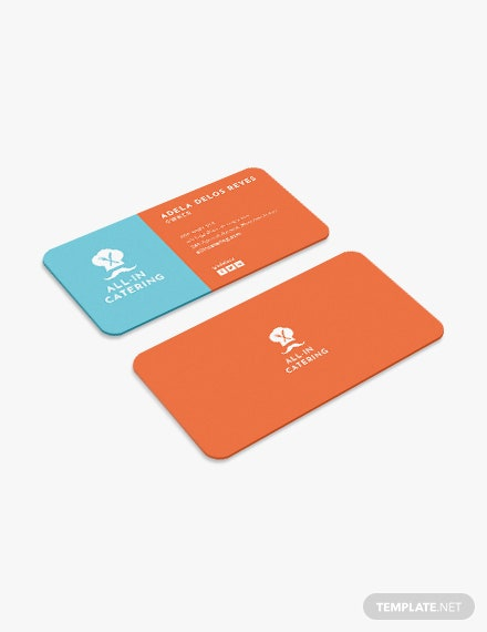 Catering Business Card Download