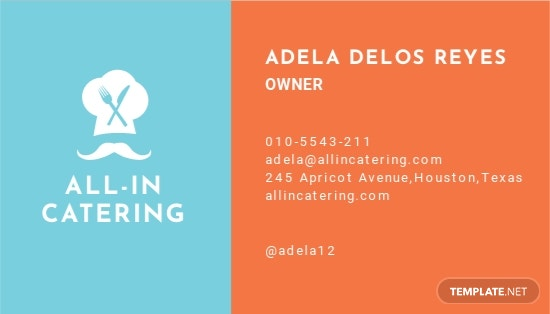 Catering Business Card Template 1.jpe