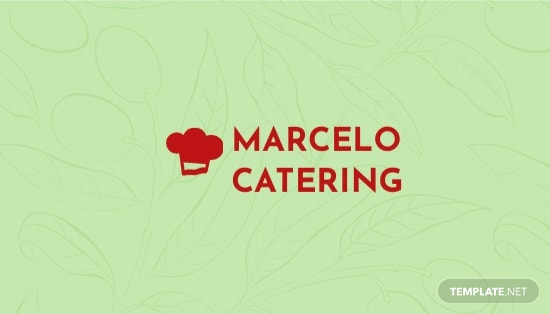 Catering Service Business Card Template.jpe