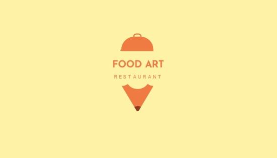 Creative Restaurant Business Card Template