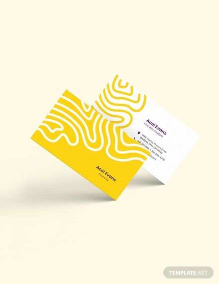 Creative Student Business Card Download