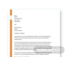 Free Lease Termination Letter Template