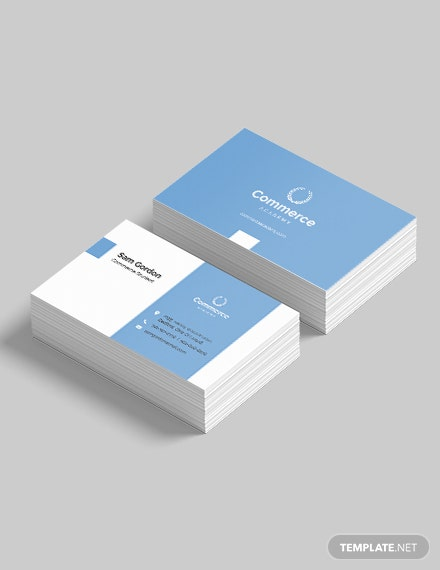 Graduate Student Business Card Template