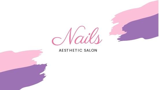 Modern Nail Salon Business Card Template.jpe