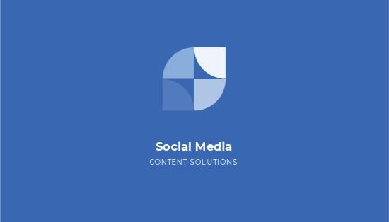 Simple Social Media Business Card Template.jpe