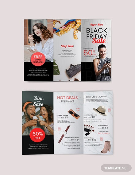 Black Friday Brochure Template