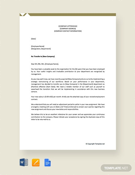 Employee-Transfer-Letter-From-One-Company-to-Another Romantic Letter Template on vintage powerpoint, editable menu, christmas gift card, movie ppt, love coupon, good night comments, agenda for day, free powerpoint, membership card, free ppt,