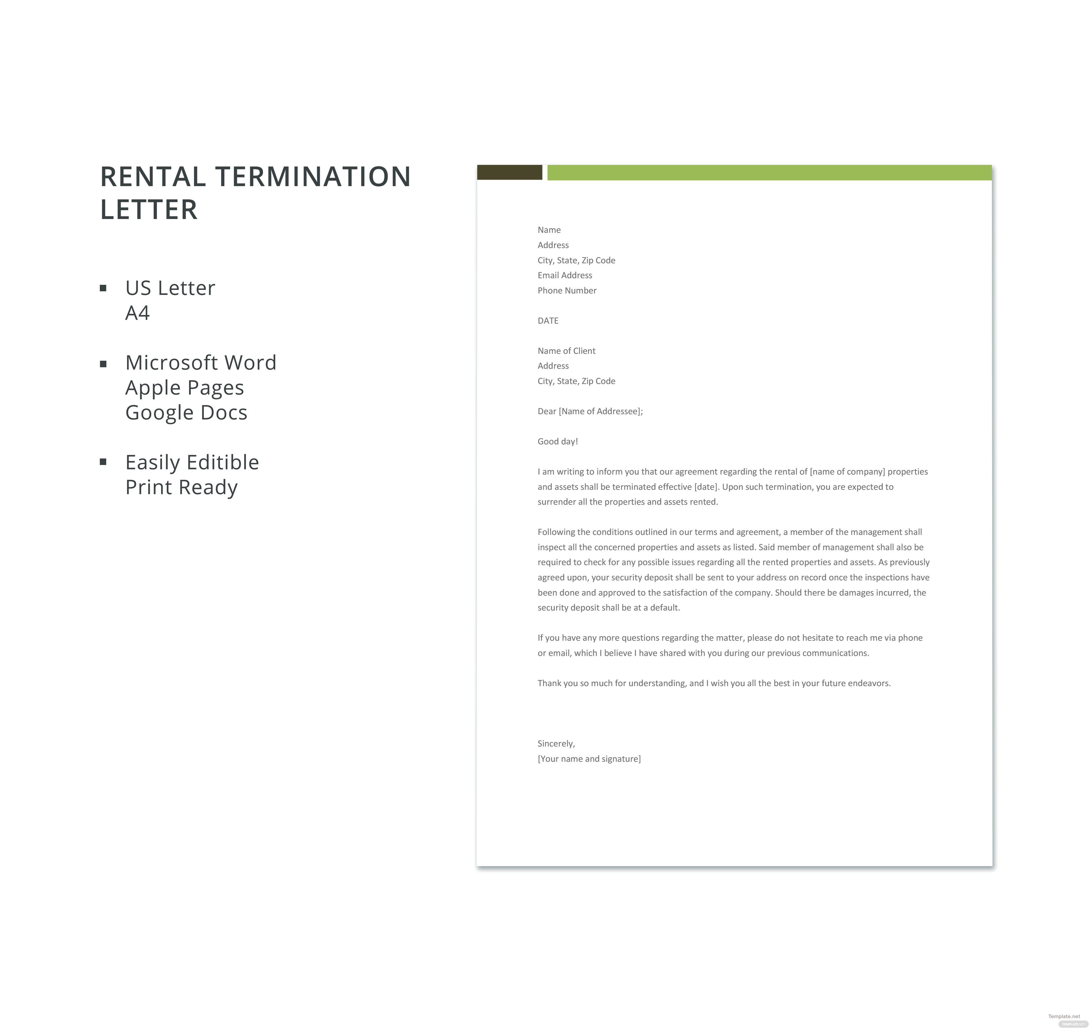 Free rental termination letter template in microsoft word apple free rental termination letter template thecheapjerseys Images