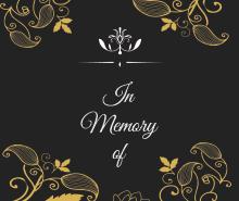 Free Memorial Bookmark Template