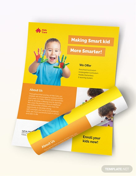 Day Care Flyer Download
