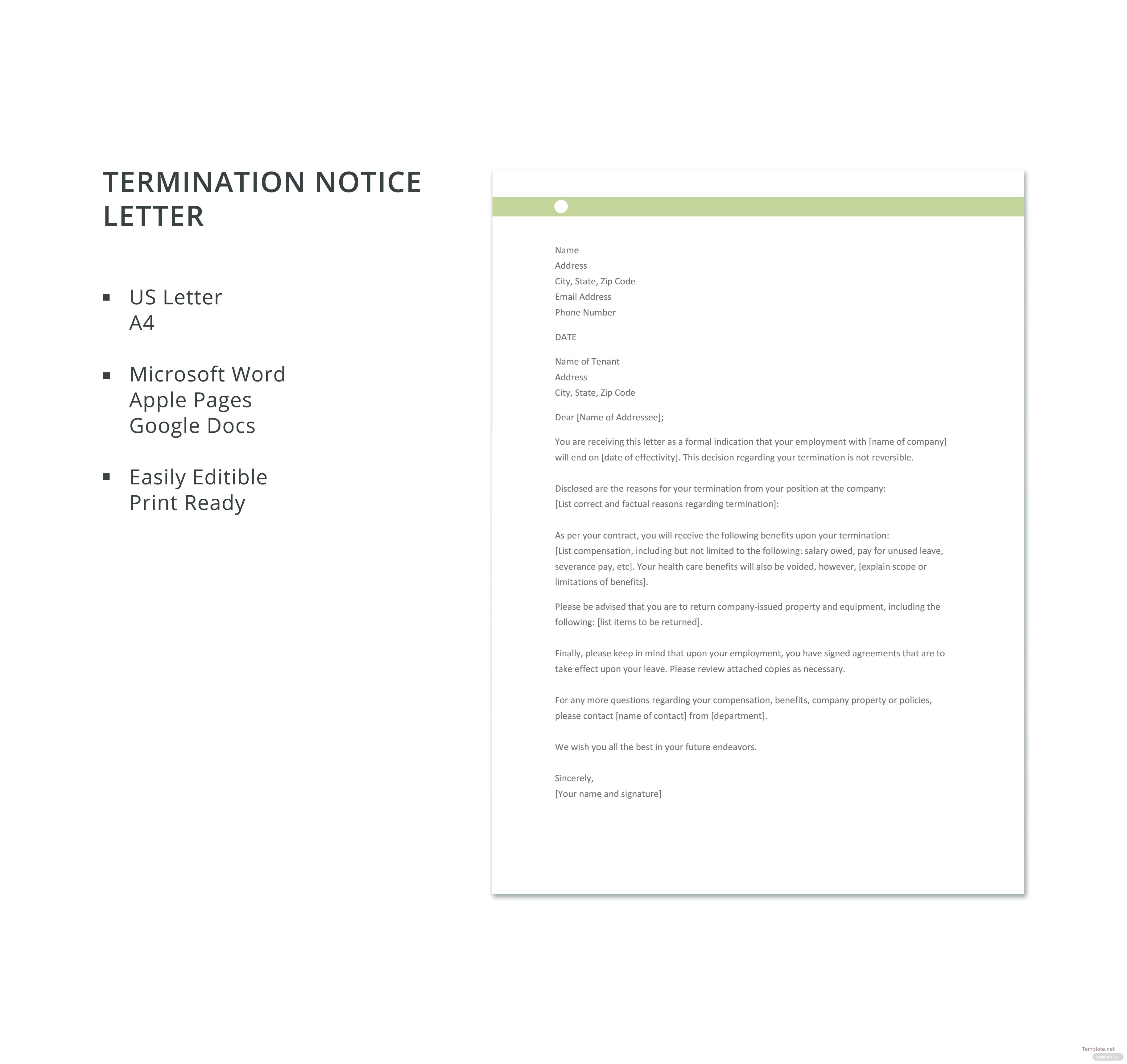 Amazing Severance Package Template Motif - Documentation Template ...