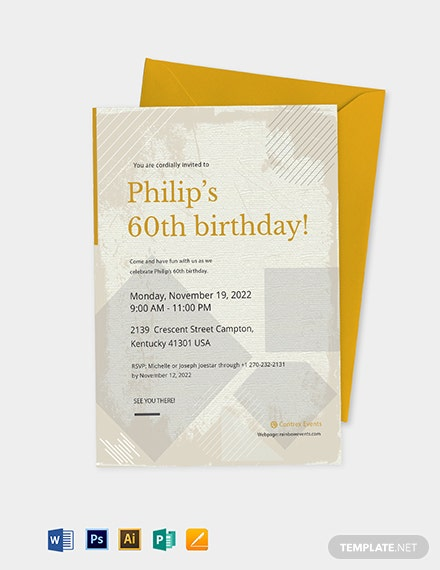 40 Free Birthday Invitation Templates In Microsoft