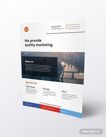 Email Flyer Download