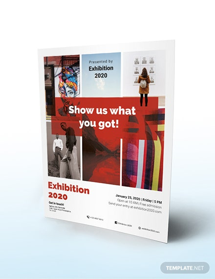 Exhibition Flyer Download