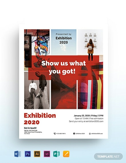 Exhibition Flyer Template