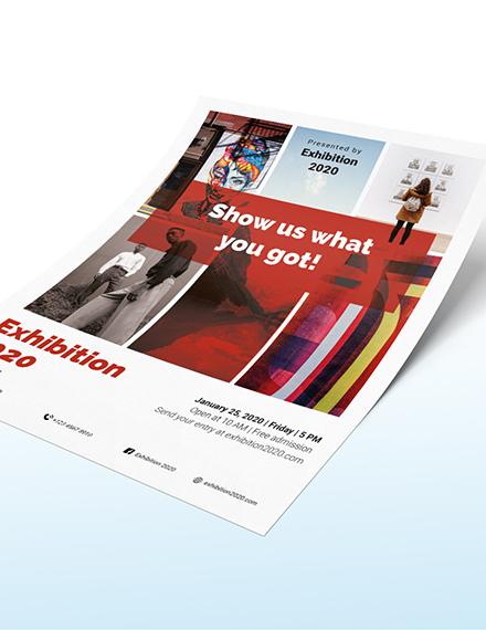 Sample Exhibition Flyer