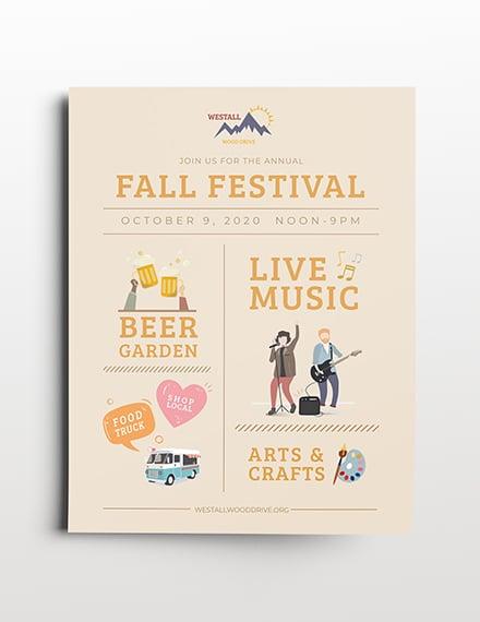 festival flyer template 2