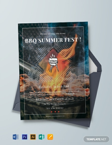 bbq summer party invitation template 440x570 1