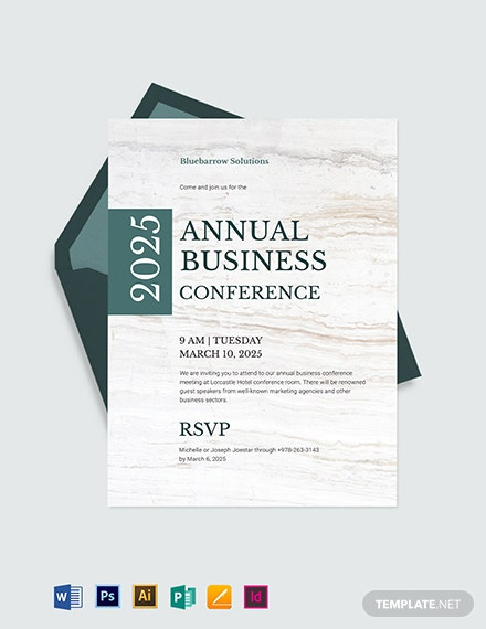 38+ FREE Business Invitation Templates [Download Ready-Made