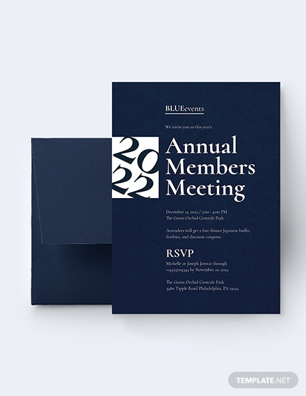 Business Meeting Invitation Download