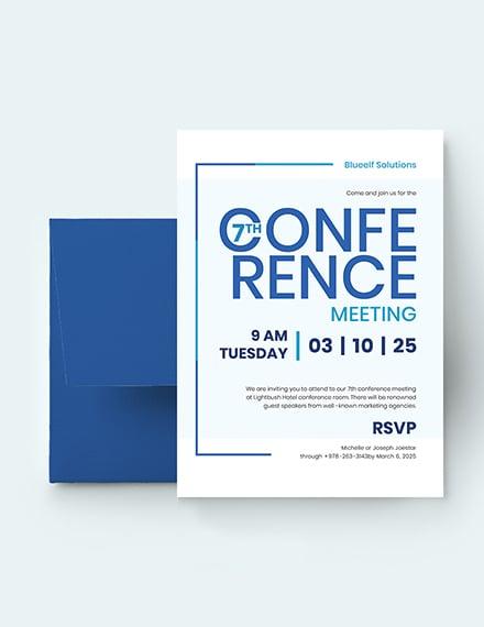 Conference Invitation Download