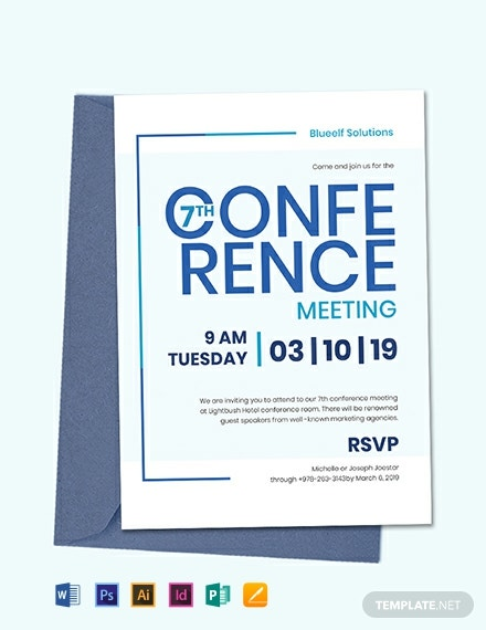 Conference Invitation Template