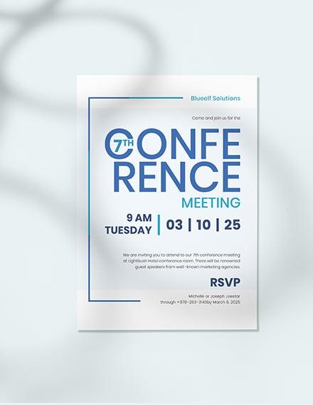 Sample Conference Invitation