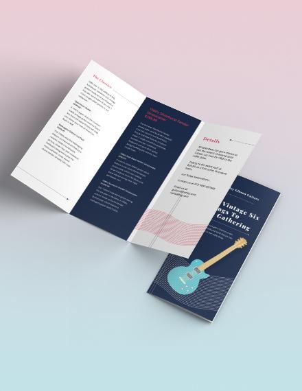 Event Tri Fold Brochure Download