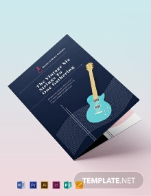 Event Bi-Fold Brochure Template
