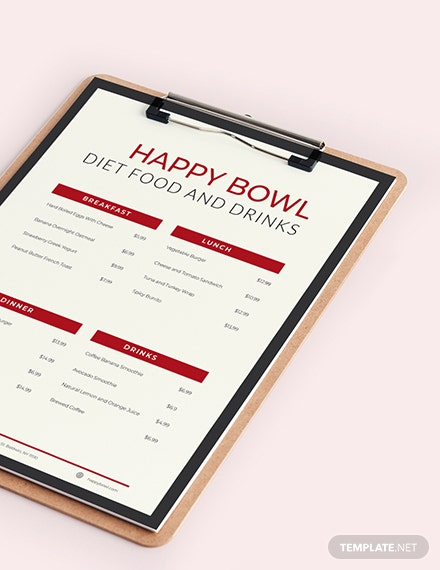 Diet Menu Planner Download