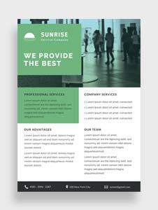 Free Service Datasheet Template