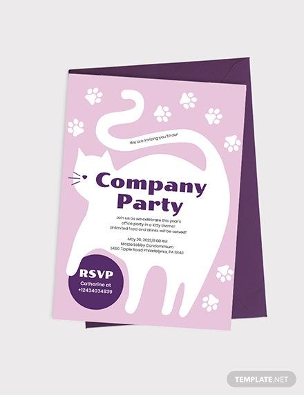Kitty Party Invitation Download