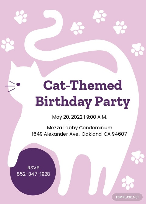 Kitty Party Invitation Template