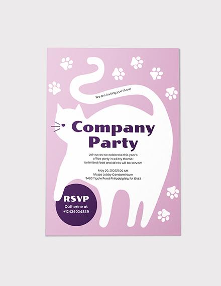 Sample Kitty Party Invitation